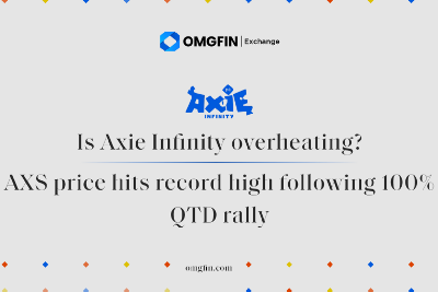 Is Axie Infinity overheating? AXS price hits record high following 100% QTD rally