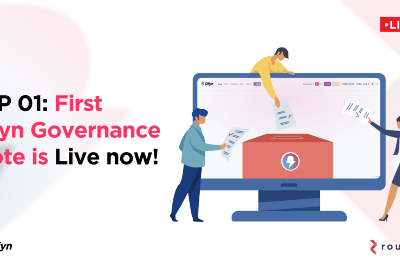 Dfyn's First Governance Proposal is now live