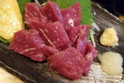 【Japanese cuisine】Horse meat to be an iconic Japanese meat cuisine