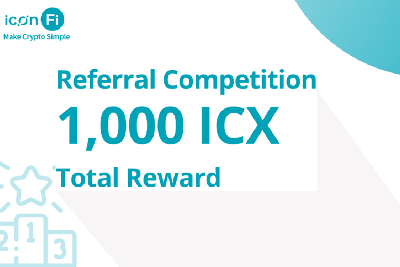 ICONFi Referral Competition—Total 1,000 ICX Rewards!
