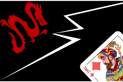 When the Deck of Cards Meets Mahjong
