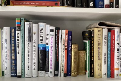 Building & Organizing My Home Library