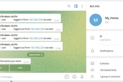 Home assistant and Telegram bot: Quick Answers