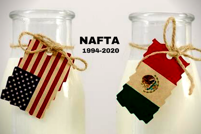 NAFTA: The Trade Deal that Delivered the Dinero for U.S. Dairy