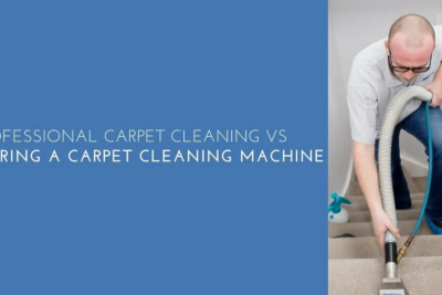 Professional Carpet Cleaning Vs. Hiring a Carpet Cleaning Machine—The Final Draw
