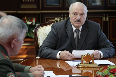 Belarusian territorial ambitions reflected in military exercise's imaginary maps