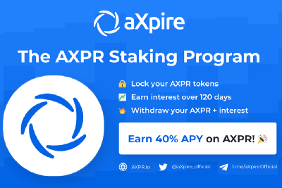 How to Stake Your AXPR Tokens