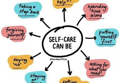 Self-Care is not all Sunshine and Rainbows.