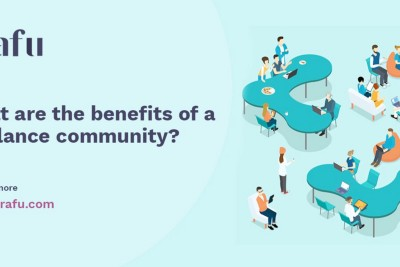 What are the benefits of a freelance community?