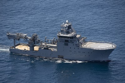 HMNZS Manawanui heads to Rim of the Pacific exercise around Hawaii