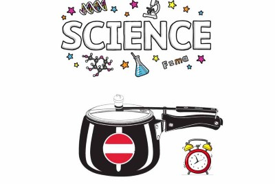 Pressure cooker reduces cooking time? What is the Science behind it?