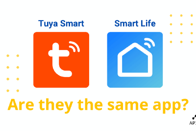 Tuya Smart vs Smart Life apps: what's the difference?