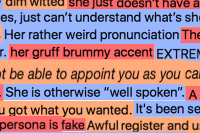Putting the Accent On Prejudice