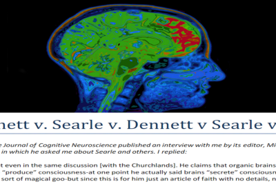 """What does the statement """"The brain produces consciousness"""" mean?"""