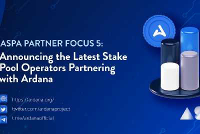 ASPA Partner Focus #6—Announcing the Latest Stake Pool Operators Partnering with Ardana