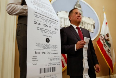 Only Banning The Paper Receipt Won't Save The Environment