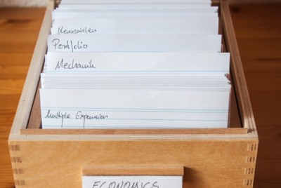 The Notecard System: Keep and Organize Everything