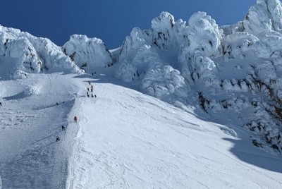 Climbing to new heights in Intro to Mountaineering