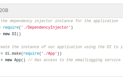 Dependency Injection in Less Than 100 Lines of Pure JavaScript