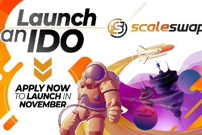 Launch an IDO on Scaleswap: Apply Now to Launch in November!