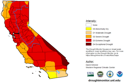 The Danger of California's Drought