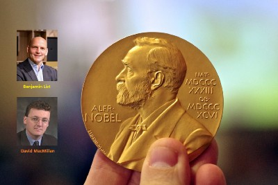 Two Scientists, a Scottish-American and a German, Share the 2021 Nobel Prize in Chemistry