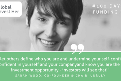 Day 4/100—Sarah Wood, Co-Founder and Chair of Unruly, and Leadership Author