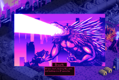 Escaping the Monster in Kaiju Wars