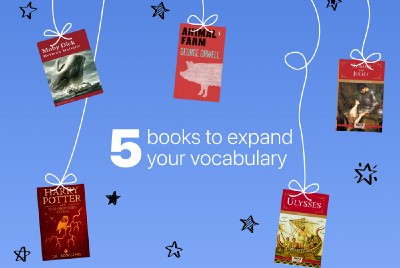 Five books to expand your vocabulary