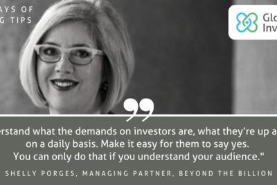 100 Days of Funding Tips: Day 3/100: Shelly Porges, Co-Founder & Managing Partner, Beyond The…