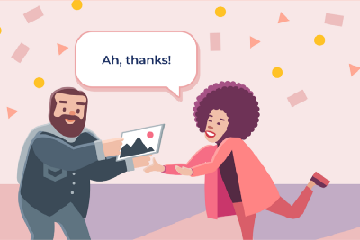 When is the best moment to use an illustration in your design?
