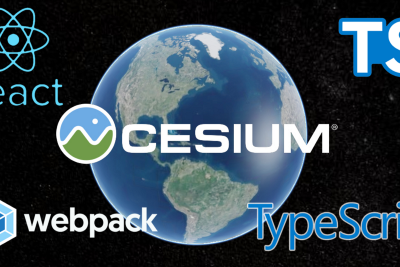 How to setup CesiumJS to use in ReactJS, Webpack, and Typescript