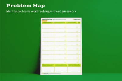 Problem Map: identifying problems worth solving 