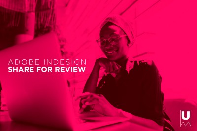 What is Share for Review in Adobe InDesign