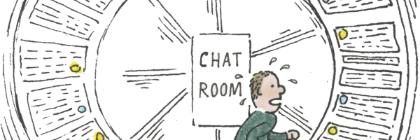 Is group chat making you sweat?