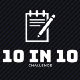 10 in 10 Challenge