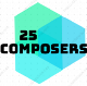 25 composers