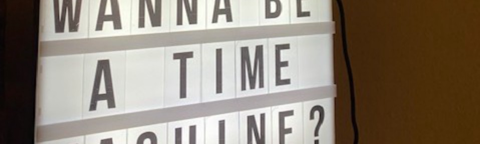 A lightbox asks if you wanna be a time machine