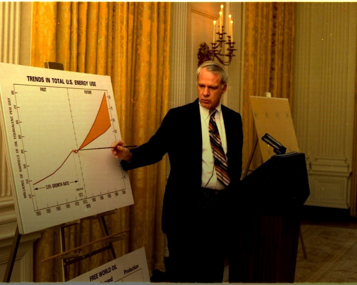 James Schlesinger on peak oil thumbnail