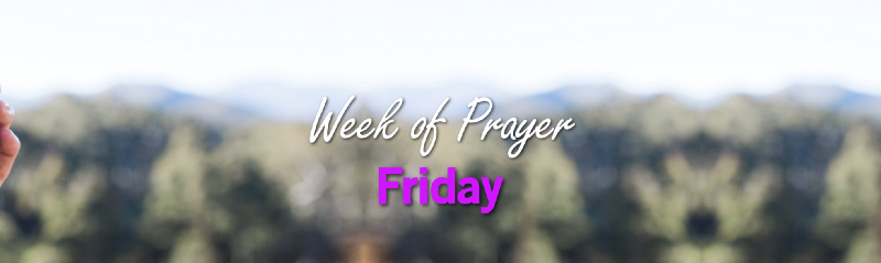 Week of Prayer: Friday cover image