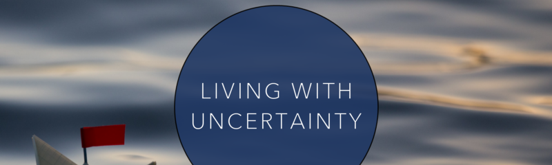 Living With Uncertainty cover image