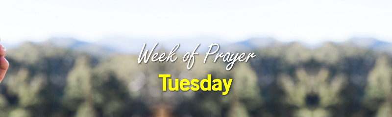 Week of Prayer: Tuesday cover image