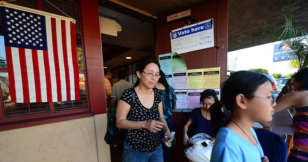 Just Where Is the Asian American Woman's Vote?