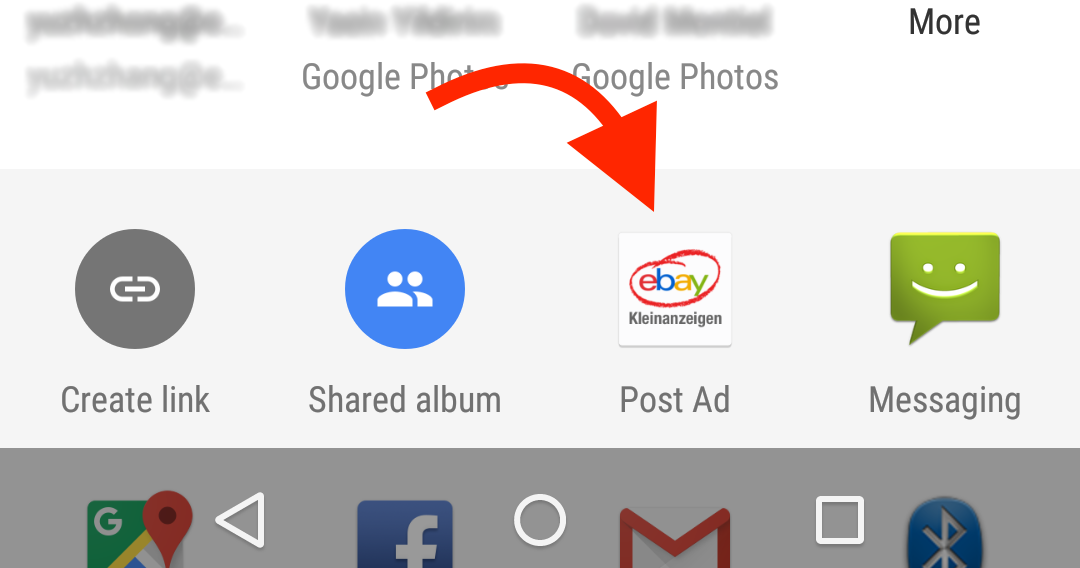 Receiving shared content on Android - eBay Tech Berlin