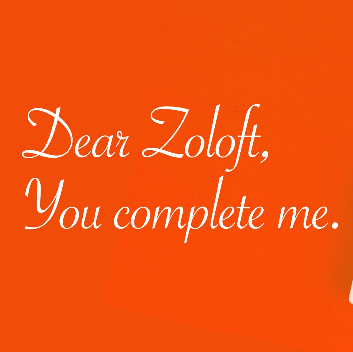 All I Want for Christmas Is Zoloft