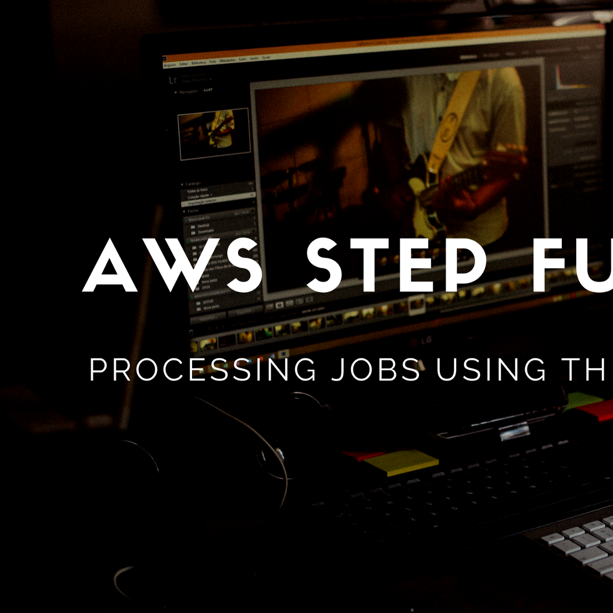 How to use AWS Step Functions to iterate and sequentially
