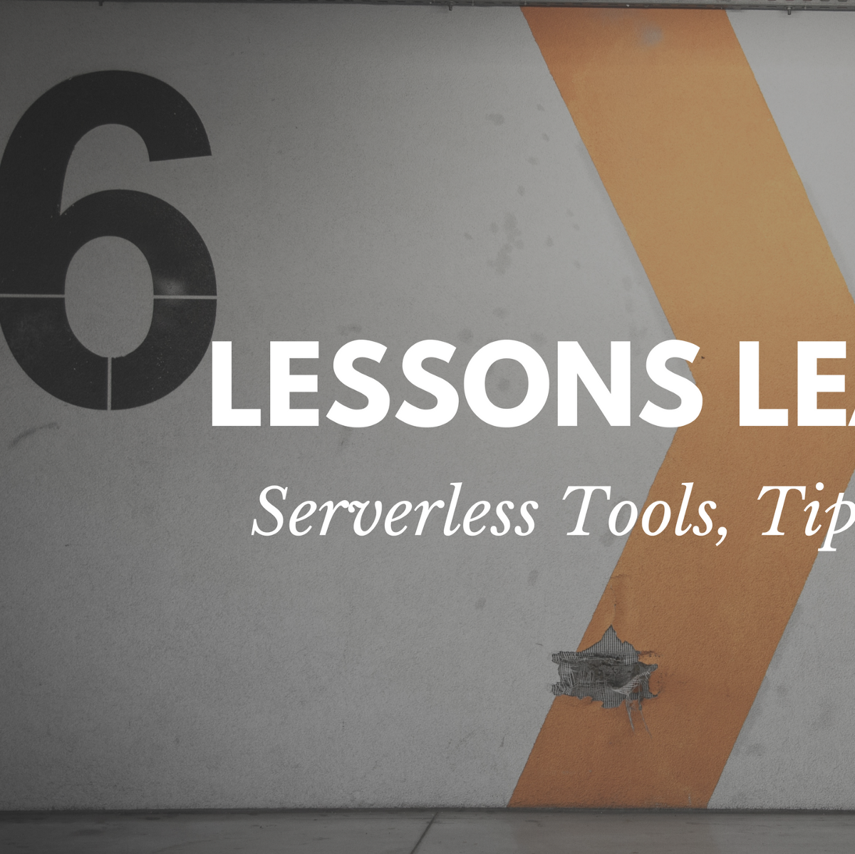 6 Lessons Learned from Going Serverless - A Cloud Guru