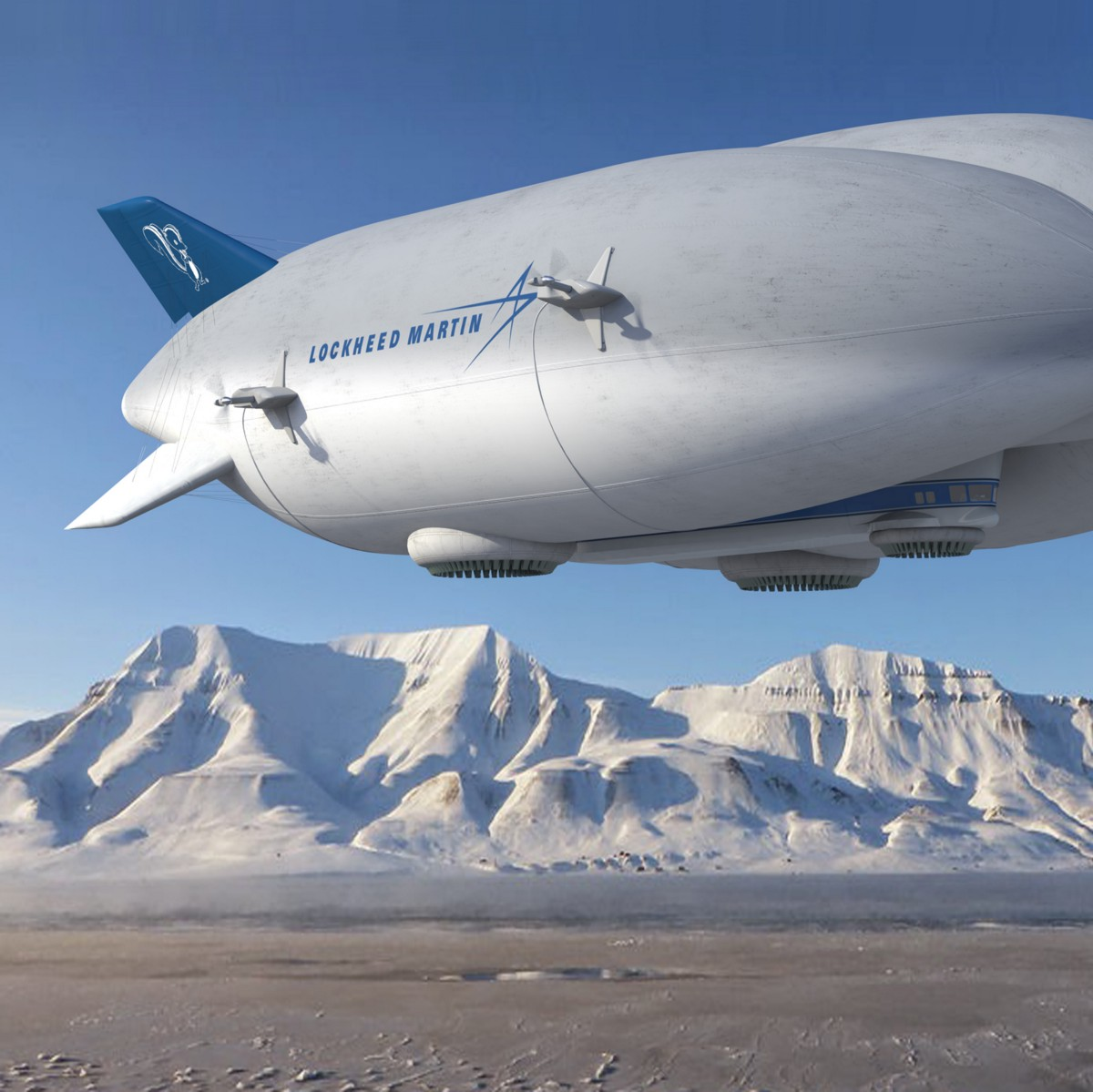 Planes Are Ruining the Planet. New, Mighty Airships Won't.