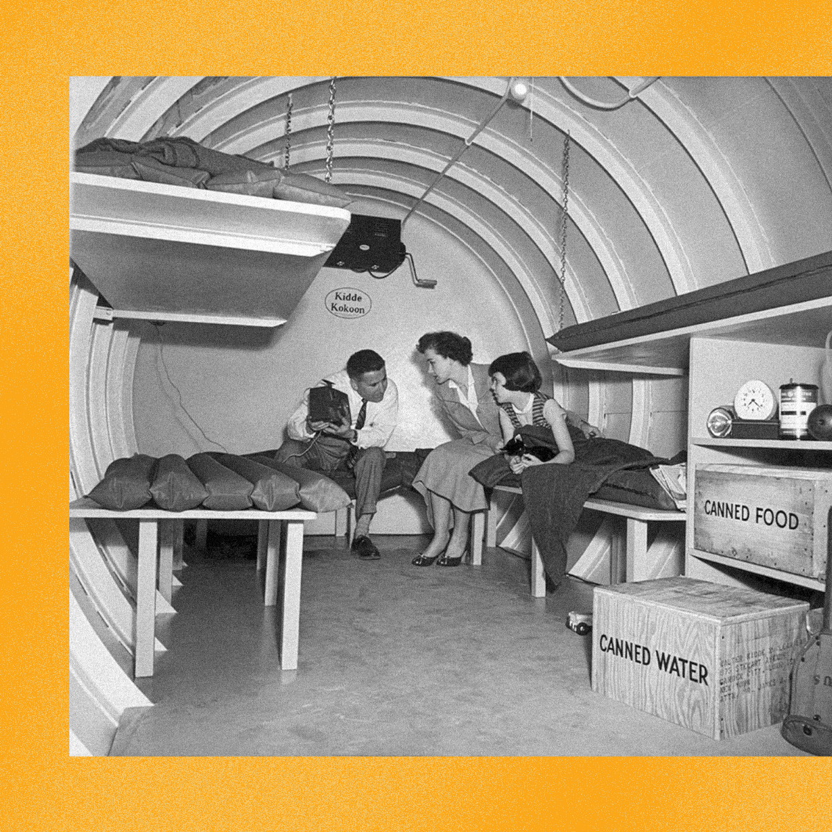 Wealthy Preppers Are Riding The Pandemic Out In Bunkers Gen