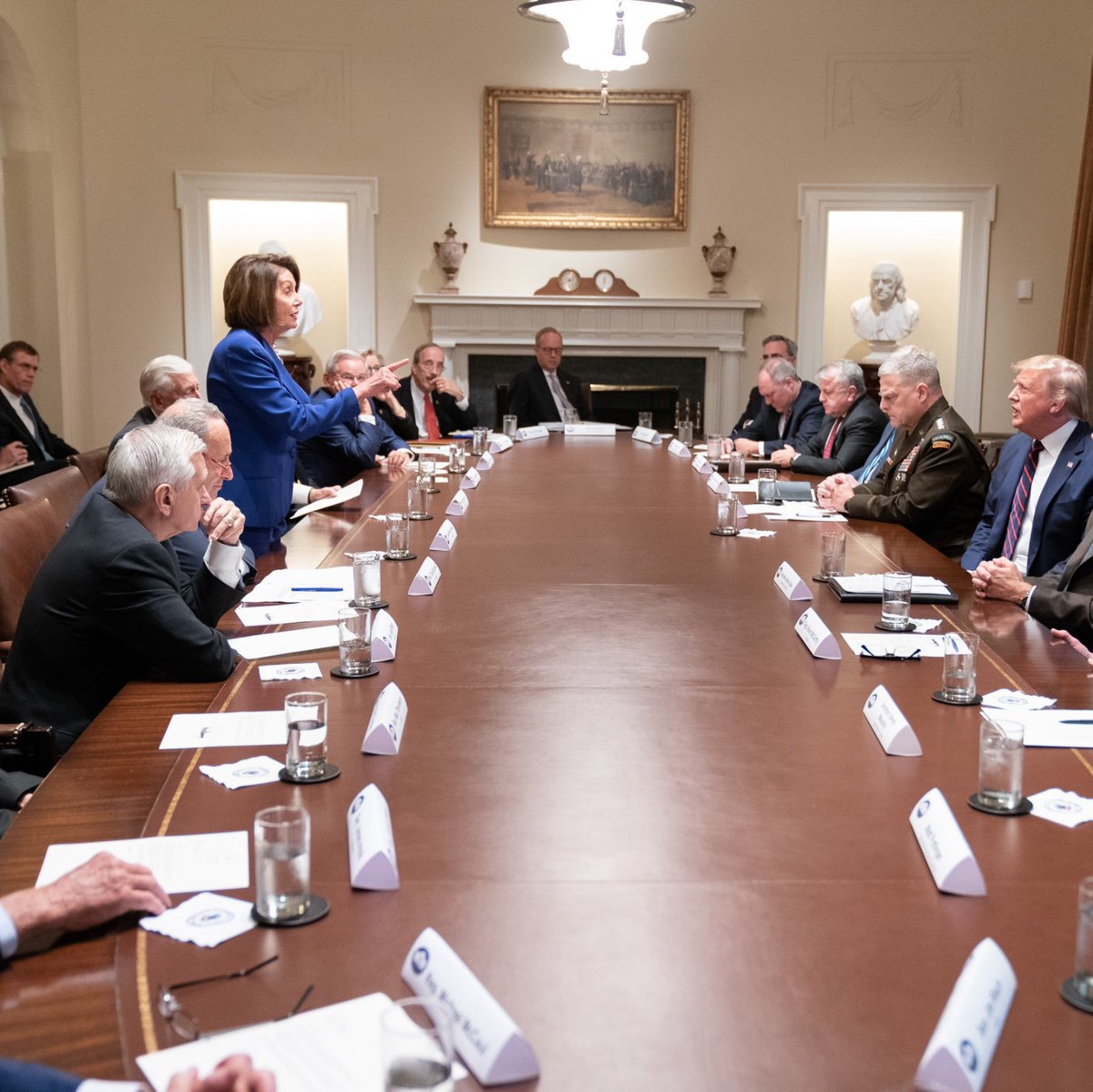 Did Trump Mean to Make Pelosi Look Good? An Investigation.